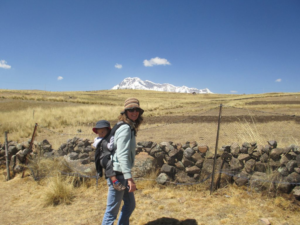 Trekking with Toddlers in the Andes