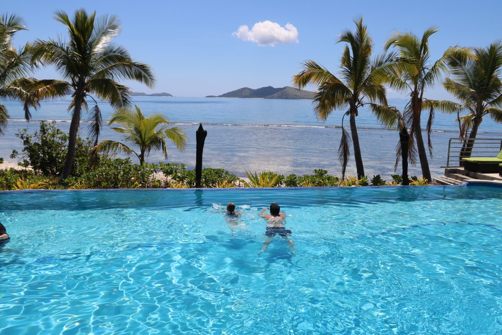 fiji best family resorts - Mana Island