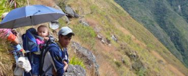 short inca trail with kids