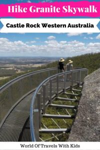 Hike To Granite Skywalk Castle Rock Western Australia