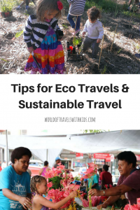 Tips for Eco Travels & Sustainable Travel