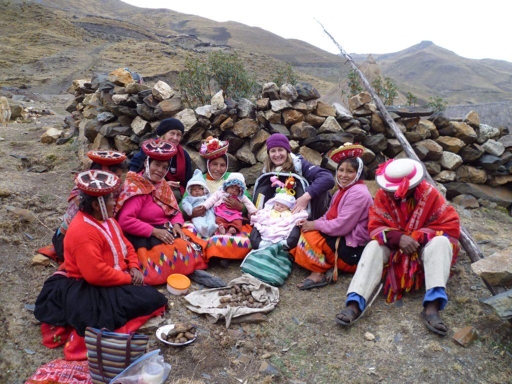Women in Peru,