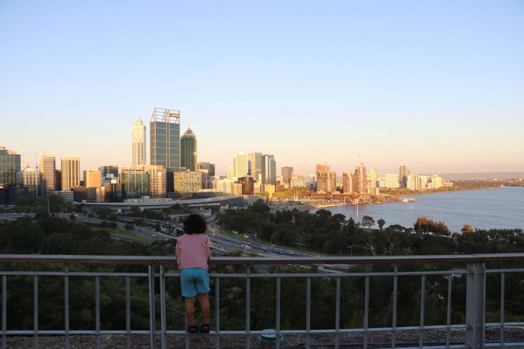 View from Kings Park Perth