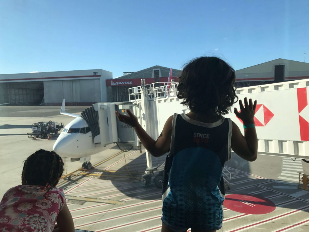 Airplane Time With Kids As Quality Time