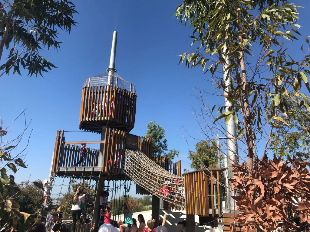 water features and playgrounds in Perth