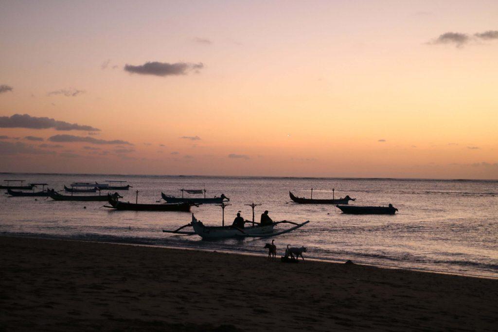 Beautiful Bali sunset