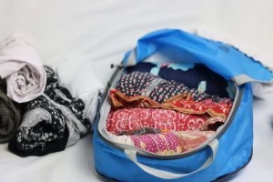 how to use travel packing squares