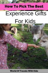 How To Pick The Best Experience Gifts For Kids