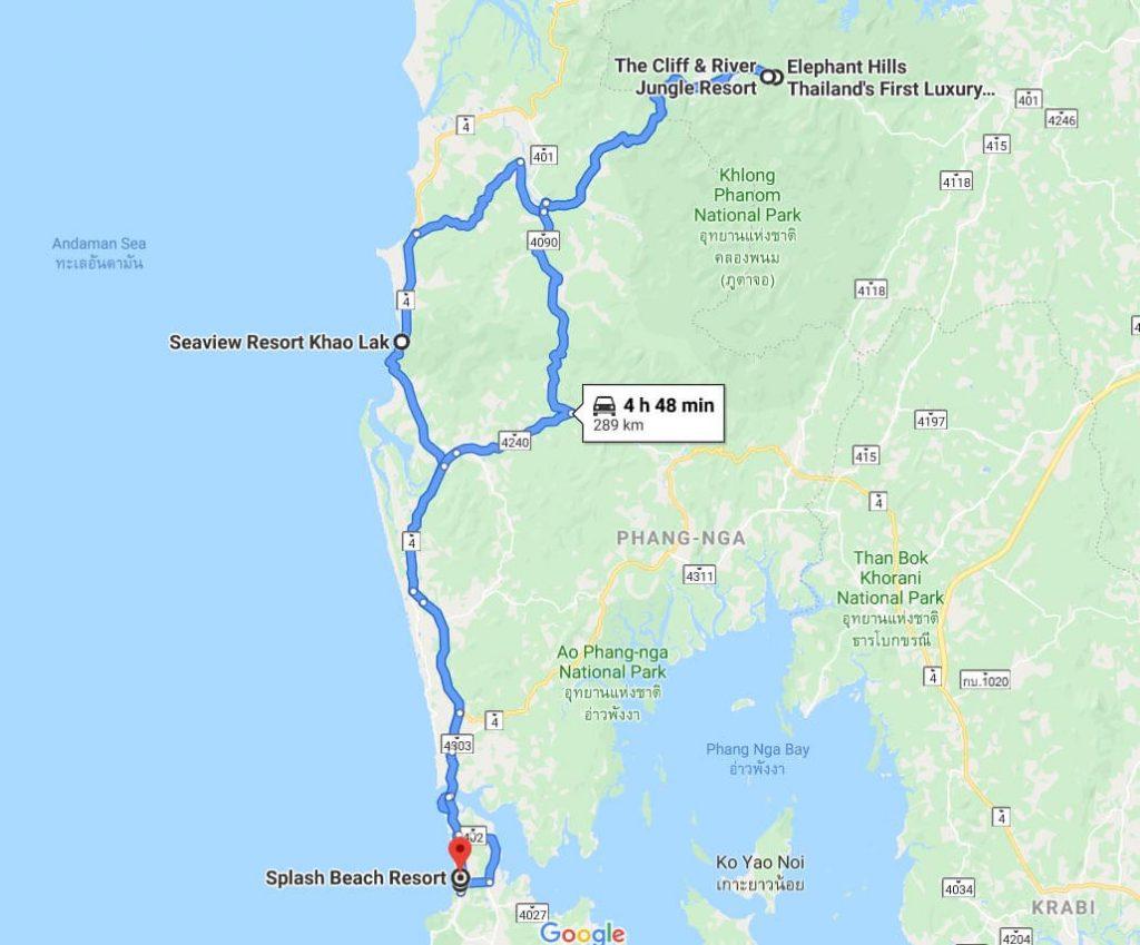 Khao Lak & Phuket itinerary