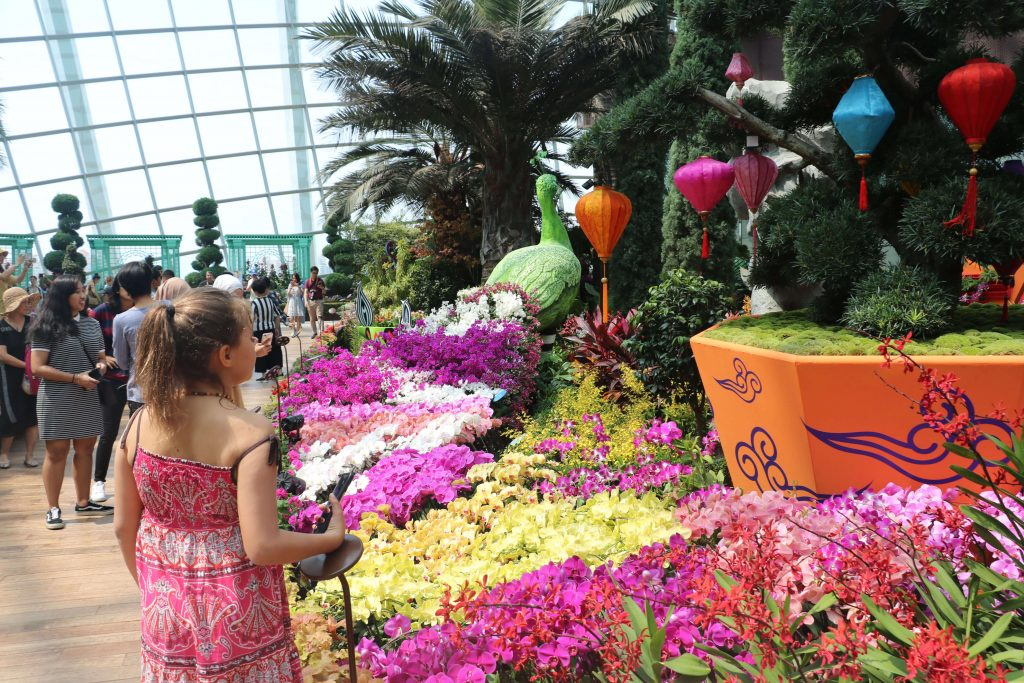 childrens garden by the bay