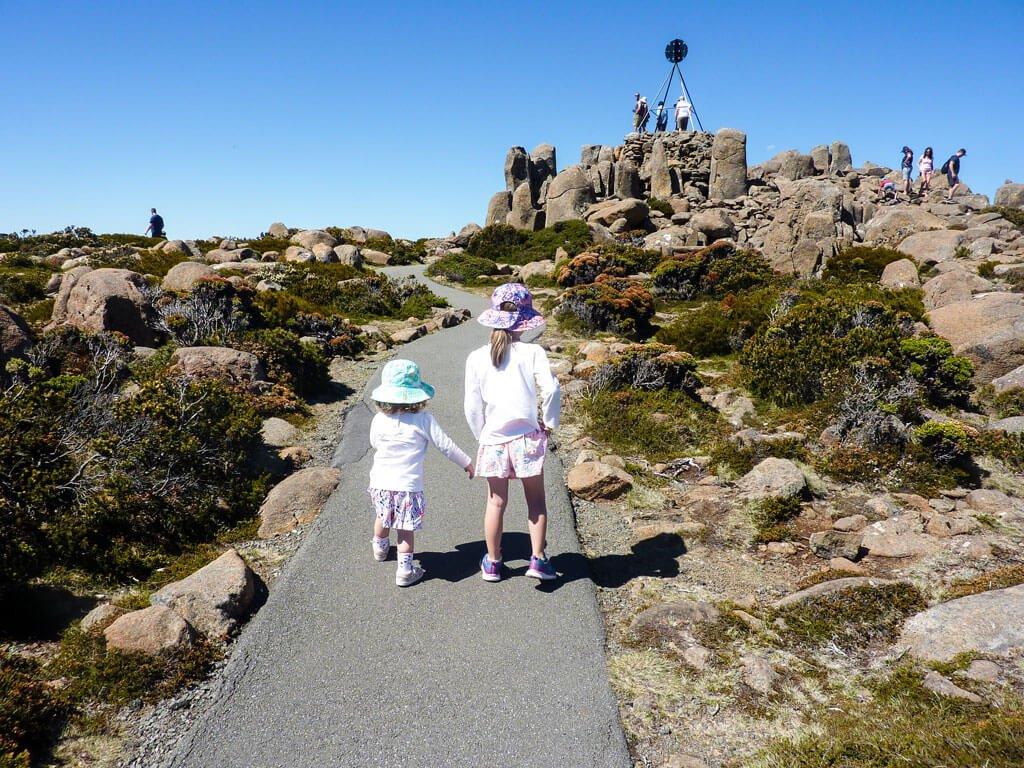 family trip to australia - Tasmania