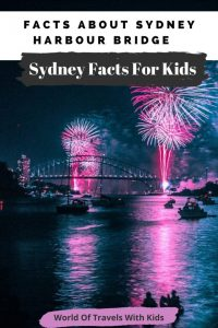 Facts About Sydney Harbour Bridge And Sydney Facts For Kids