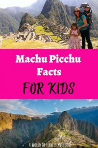 Machu Picchu Facts For Kids