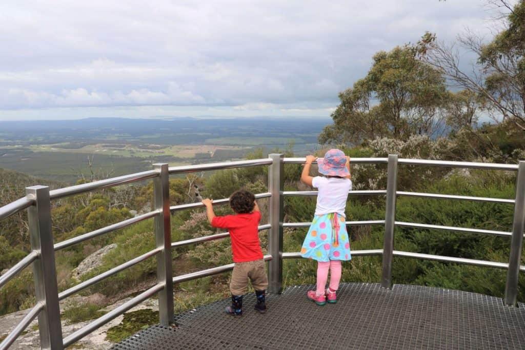 Granite Skywalk Castle Rock Western Australia