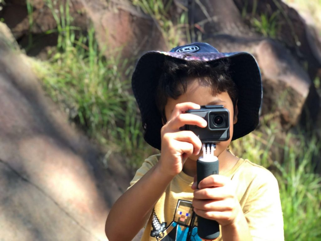 Using A GoPro For Travel With Kids
