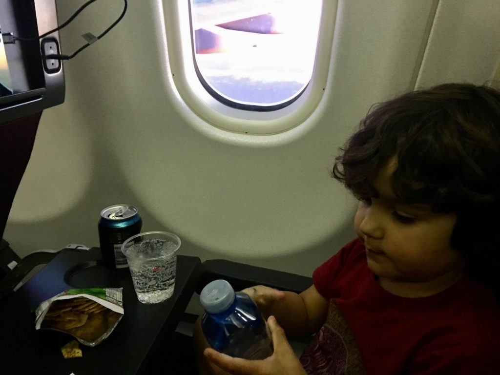 How To Entertain A Toddler On A Plane