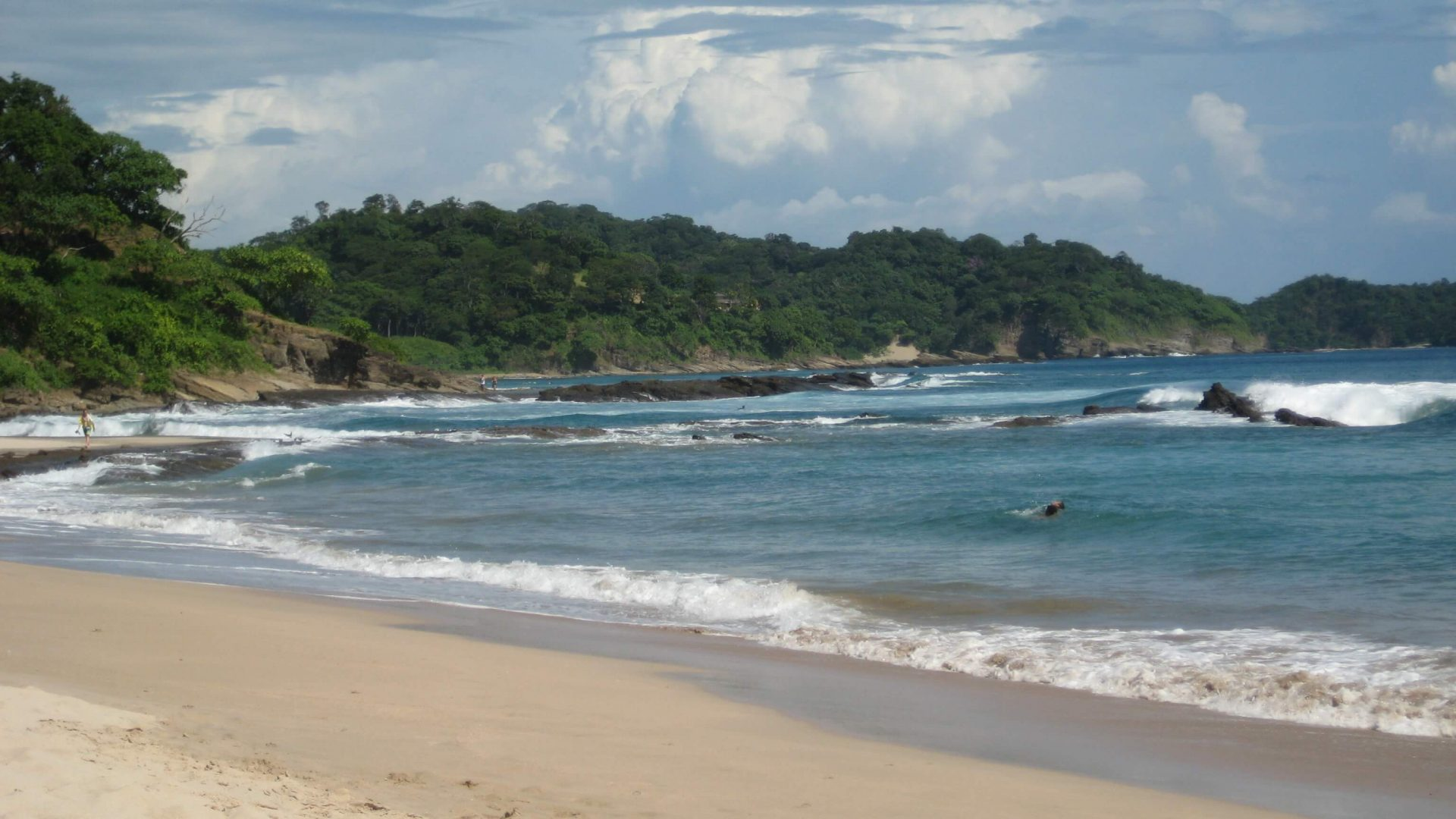 Beaches Nicaragua Around San Jan del Sur