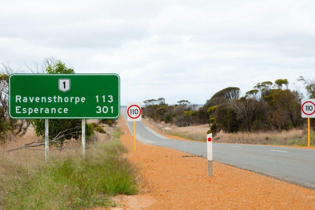 Perth to Esperance road trip