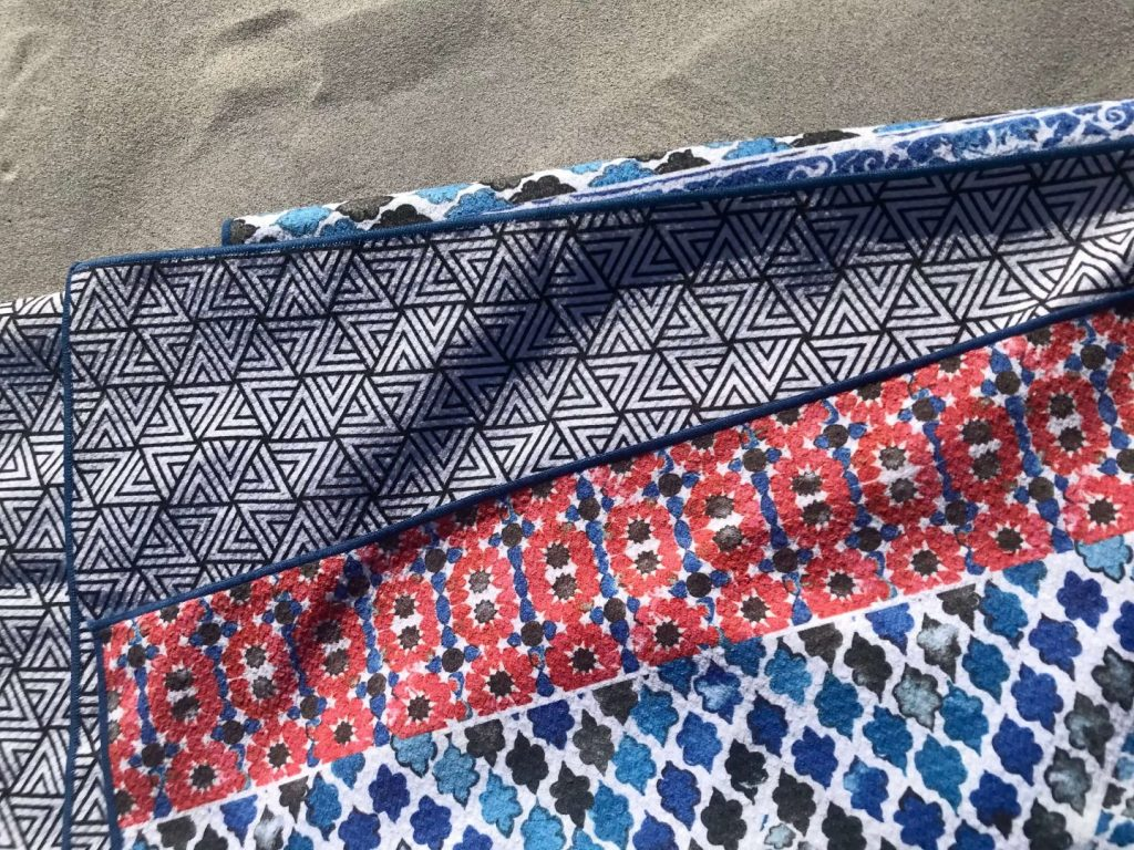 Tessellate Beach Towels