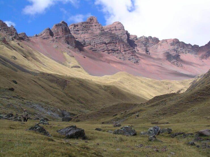 the Rainbow Mountain Peru